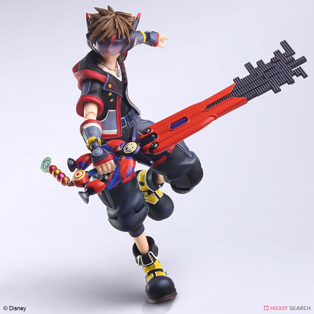 BRING ARTS『ソラ Version 2』KINGDOM HEARTS III 可動フィギュア-001
