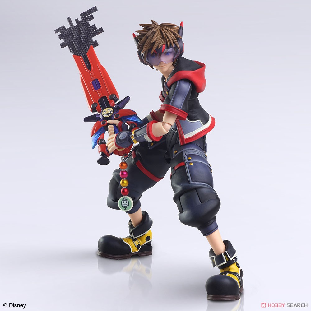 BRING ARTS『ソラ Version 2』KINGDOM HEARTS III 可動フィギュア-002