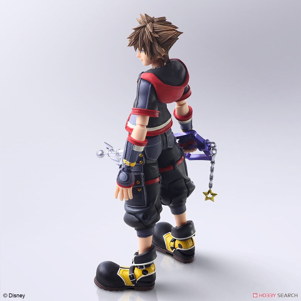 BRING ARTS『ソラ Version 2』KINGDOM HEARTS III 可動フィギュア-004