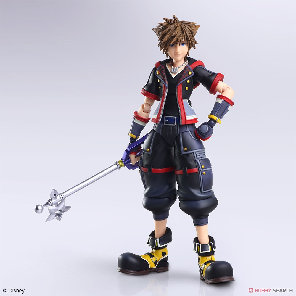 BRING ARTS『ソラ Version 2』KINGDOM HEARTS III 可動フィギュア-005