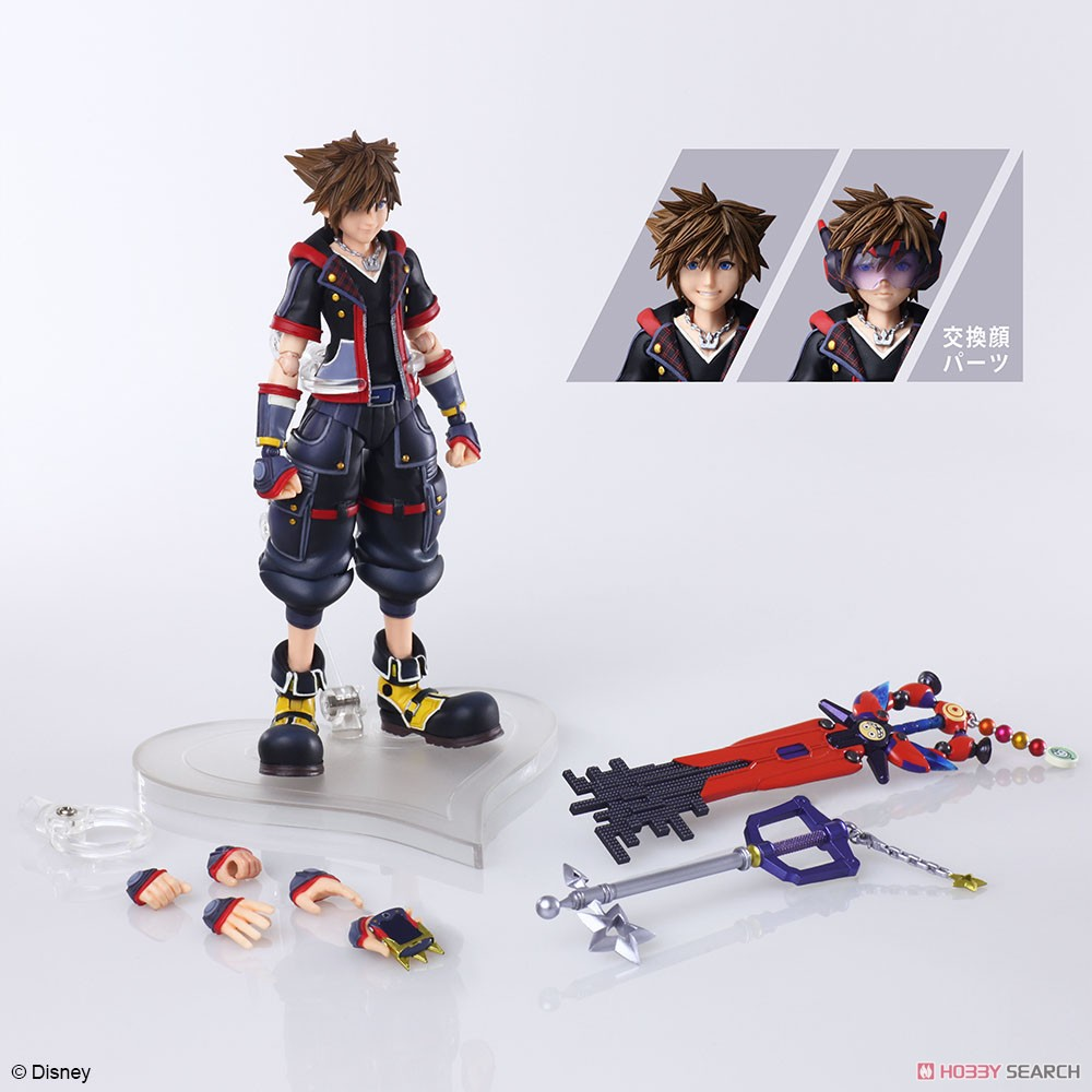 BRING ARTS『ソラ Version 2』KINGDOM HEARTS III 可動フィギュア-008