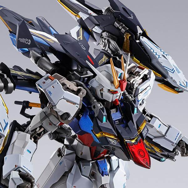 【限定販売】METAL BUILD『ライトニングストライカー』機動戦士ガンダムSEED 可動フィギュア