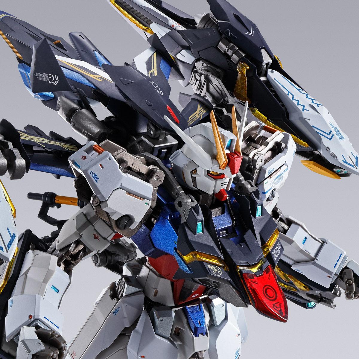【限定販売】METAL BUILD『ライトニングストライカー』機動戦士ガンダムSEED 可動フィギュア-001