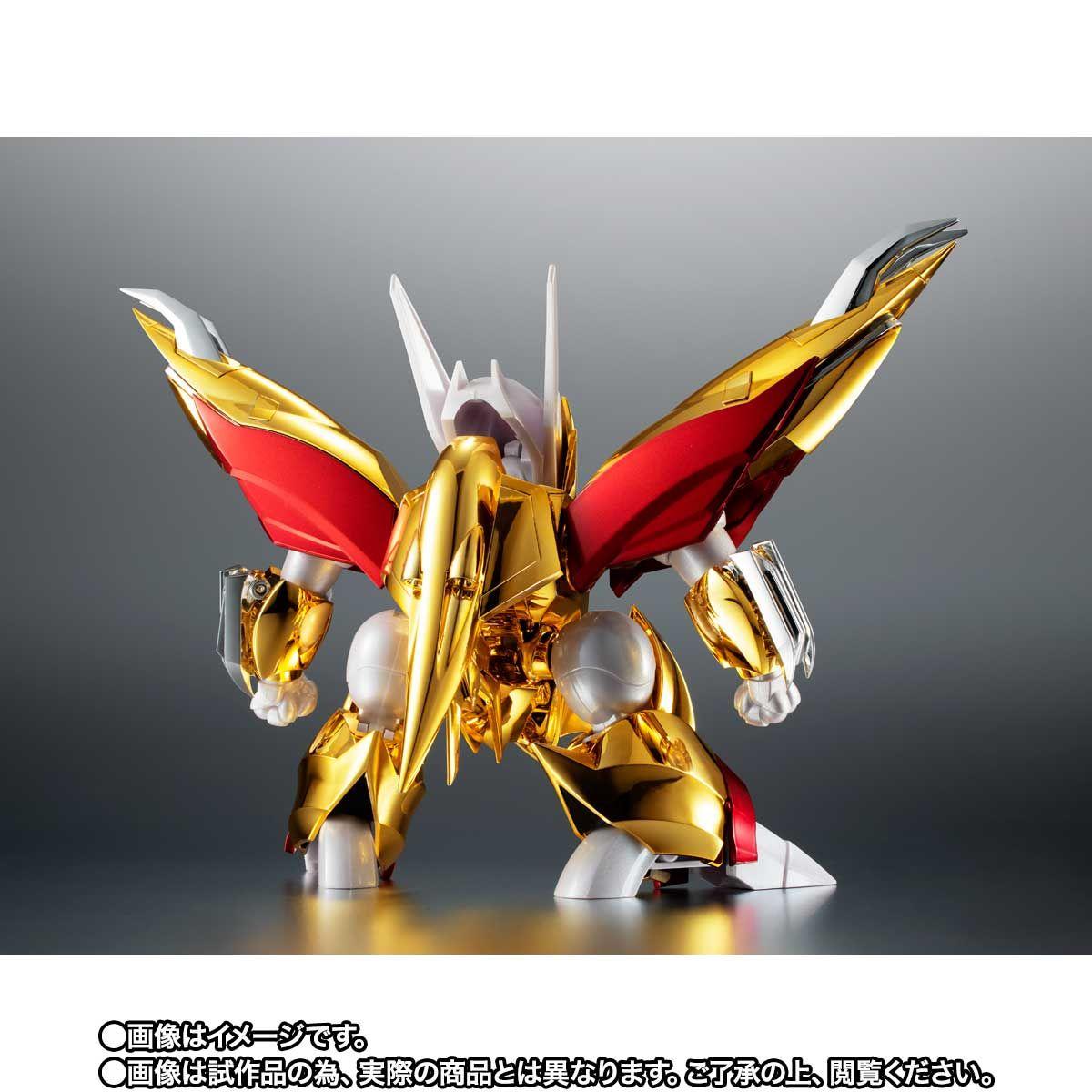 【限定販売】ROBOT魂〈SIDE MASHIN〉『龍星丸 30周年特別記念版』魔神英雄伝ワタル 可動フィギュア-004