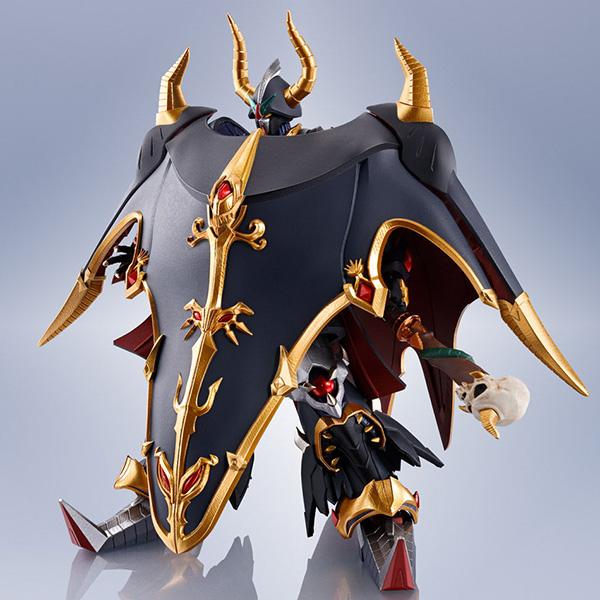 【限定販売】METAL ROBOT魂〈SIDE MS〉『サタンガンダム=ブラックドラゴン(リアルタイプver.)』SDガンダム外伝 可動フィギュア