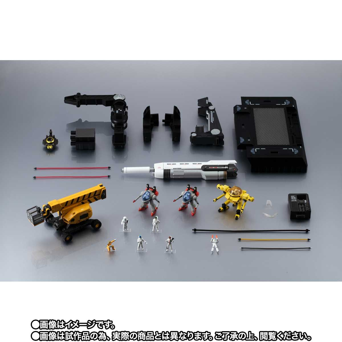 【限定販売】METAL STRUCTURE 解体匠機 RX-93 νガンダム専用オプションパーツ『ロンド・ベルエンジニアズ』セット-010