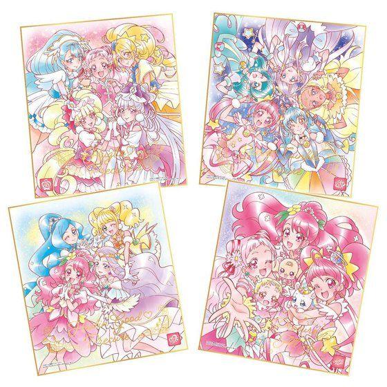 【限定販売】【食玩】プリキュアシリーズ『プリキュア色紙ART-メモリアルセット-』グッズ