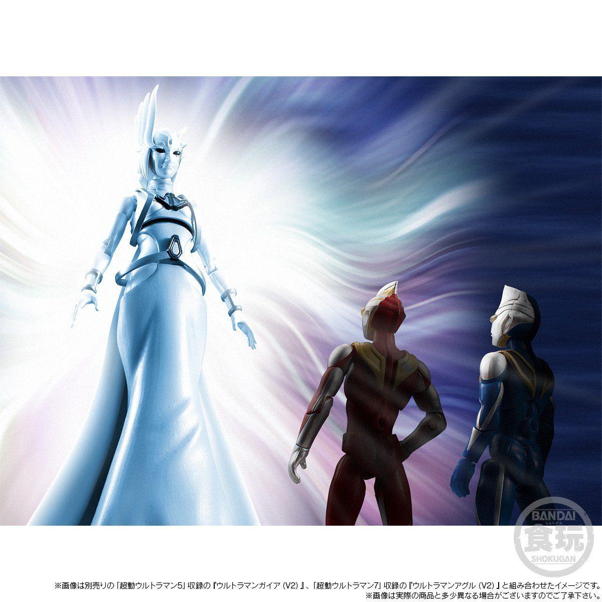 【限定販売】【食玩】超動ウルトラマン『ウルトラマンガイア -天使降臨-』可動フィギュア-008