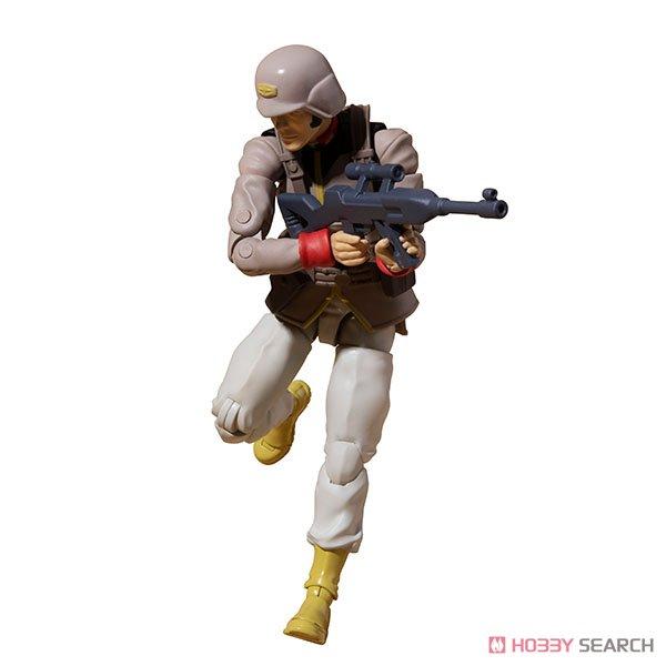 G.M.G. ガンダムミリタリージェネレーション『地球連邦軍一般兵士01』1/18 可動フィギュア-002