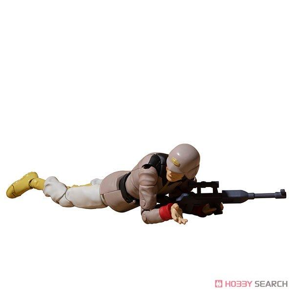 G.M.G. ガンダムミリタリージェネレーション『地球連邦軍一般兵士01』1/18 可動フィギュア-004