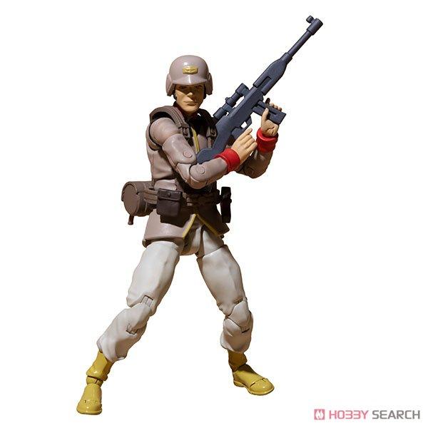 G.M.G. ガンダムミリタリージェネレーション『地球連邦軍一般兵士01』1/18 可動フィギュア-005