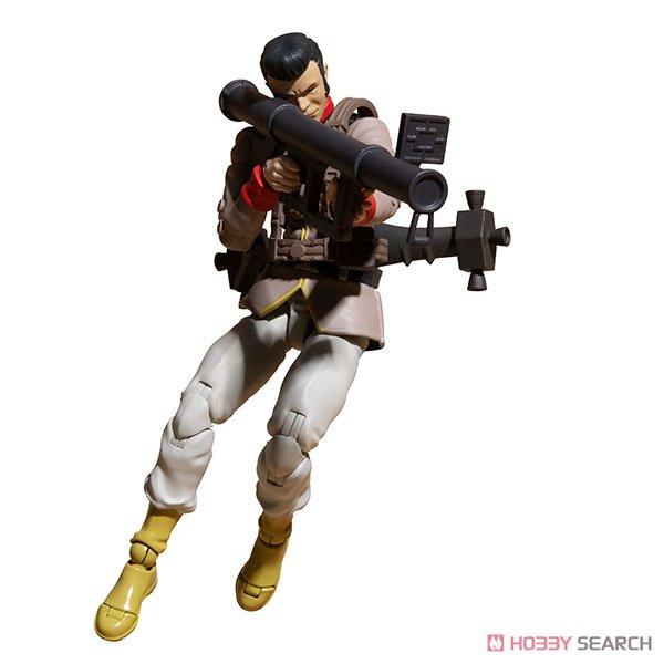 G.M.G. ガンダムミリタリージェネレーション『地球連邦軍一般兵士01』1/18 可動フィギュア-008