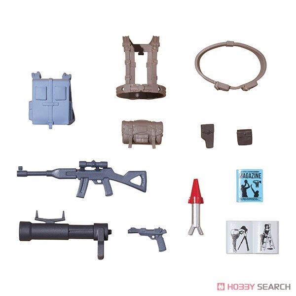G.M.G. ガンダムミリタリージェネレーション『地球連邦軍一般兵士01』1/18 可動フィギュア-013