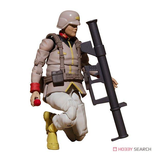 G.M.G. ガンダムミリタリージェネレーション『地球連邦軍一般兵士01』1/18 可動フィギュア-015