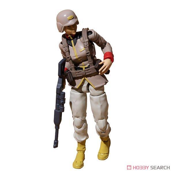 G.M.G. ガンダムミリタリージェネレーション『地球連邦軍一般兵士01』1/18 可動フィギュア-019