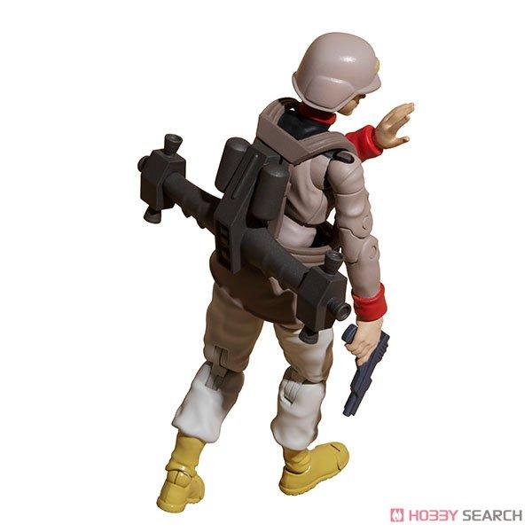 G.M.G. ガンダムミリタリージェネレーション『地球連邦軍一般兵士01』1/18 可動フィギュア-020