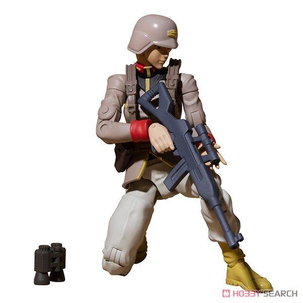 G.M.G. ガンダムミリタリージェネレーション『地球連邦軍一般兵士01』1/18 可動フィギュア-021