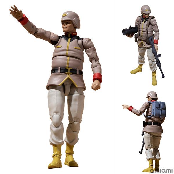 G.M.G. ガンダムミリタリージェネレーション『地球連邦軍一般兵士02』1/18 可動フィギュア
