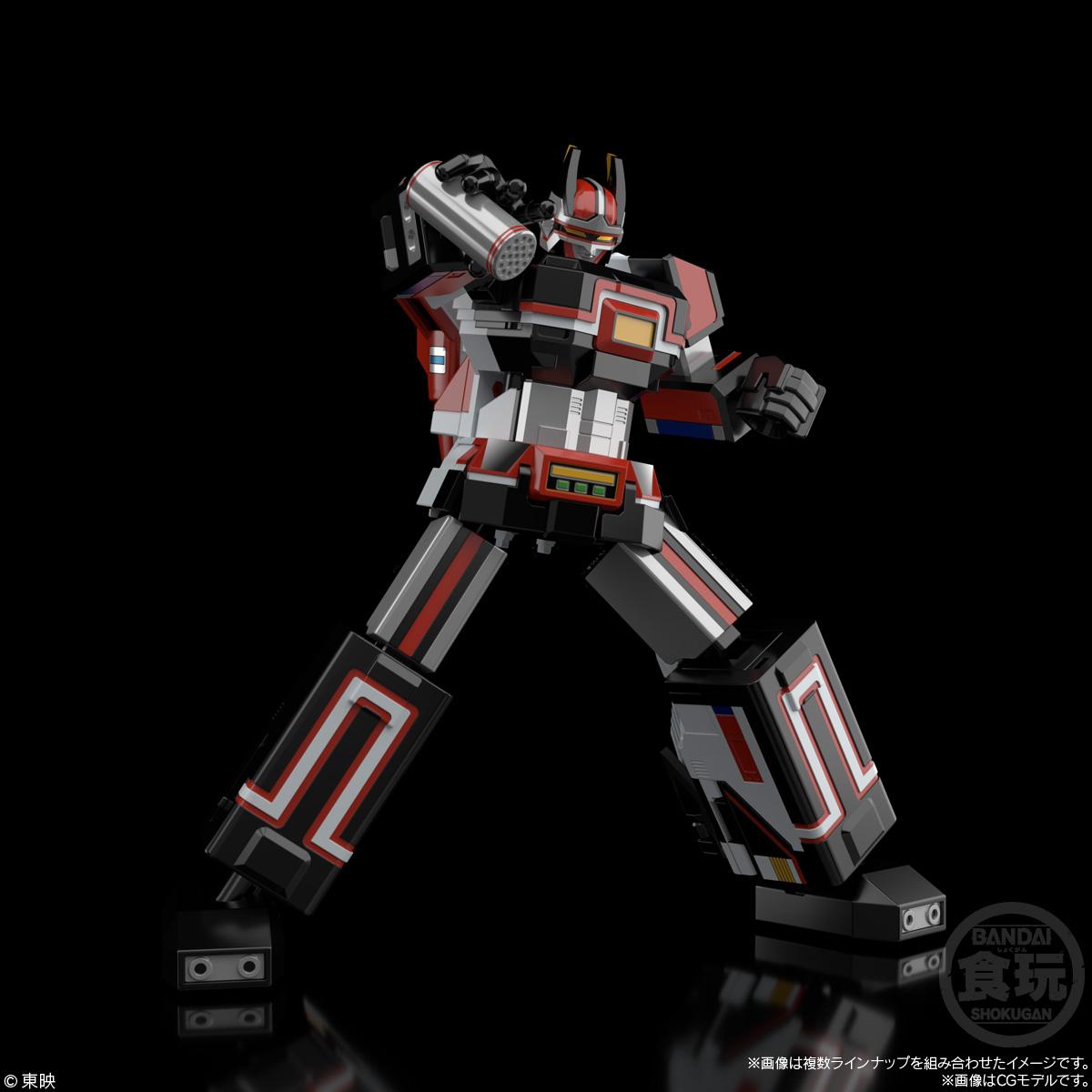 【食玩】スーパーミニプラ『電子合体 バイオロボ』超電子バイオマン 2個入りBOX-009