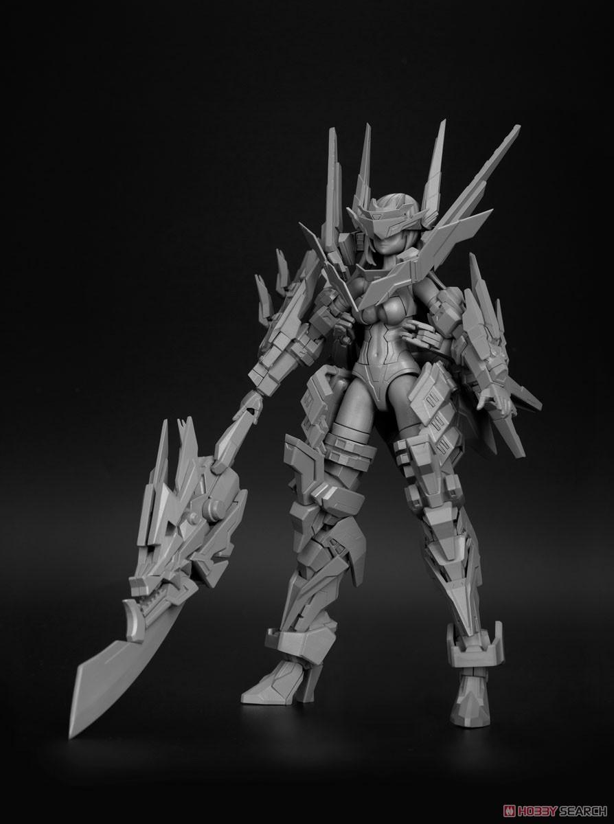 三国少女伝『将魂姫 関羽×五龍 重装版[JP Ver.]』1/10 プラモデル-012