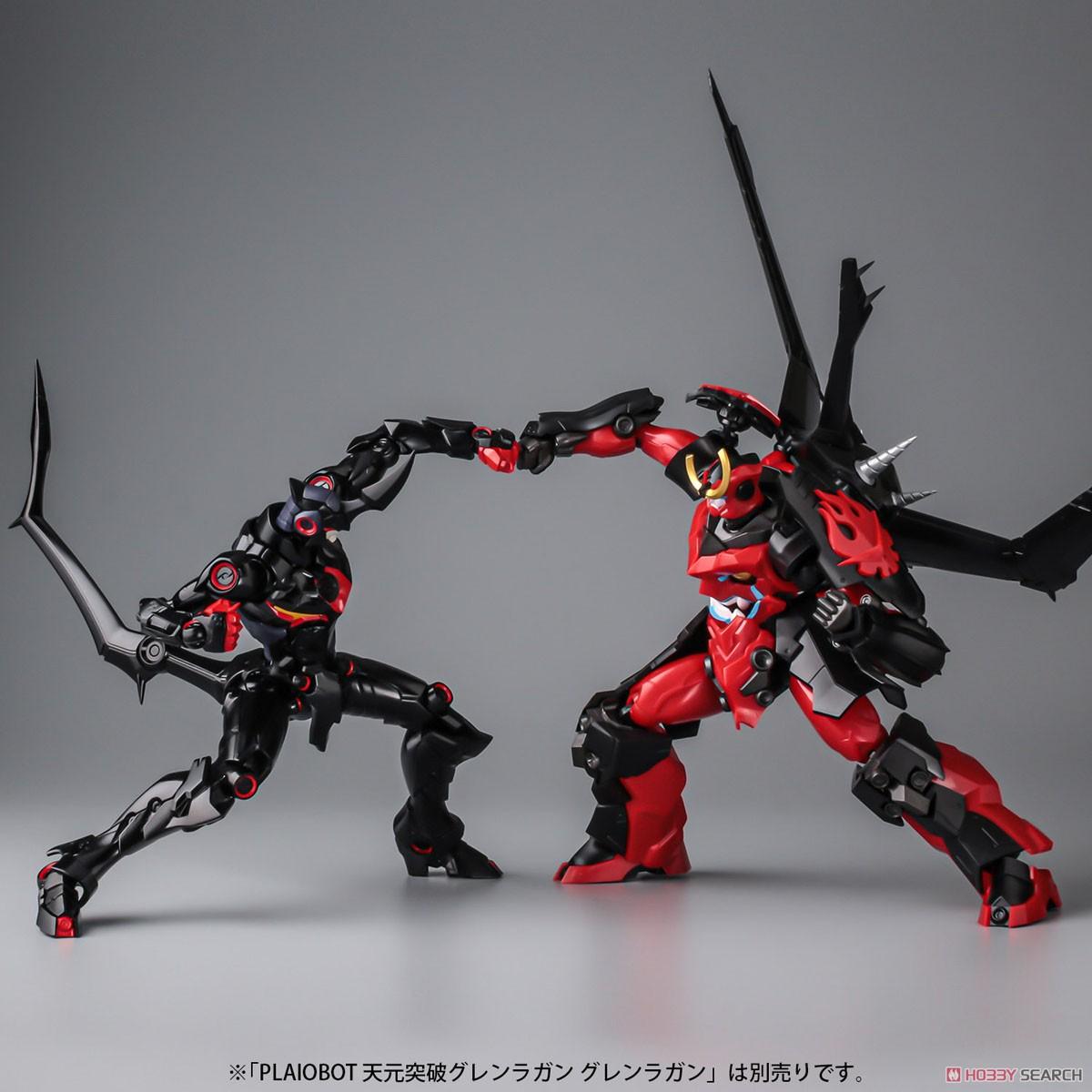 プライオボット『ラゼンガン』天元突破グレンラガン プラモデル-016