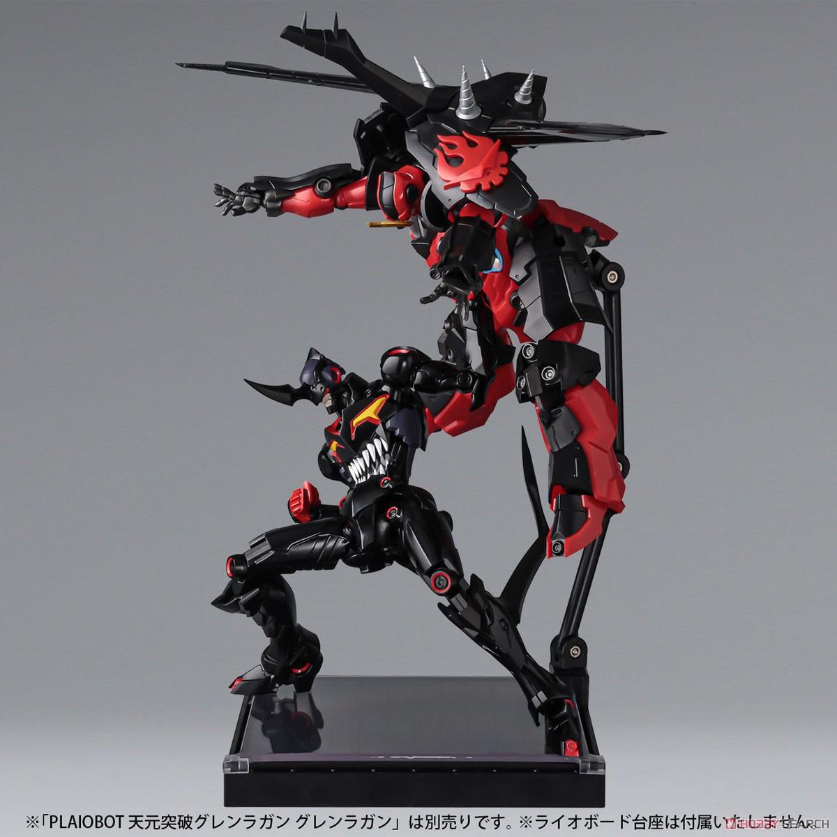 プライオボット『ラゼンガン』天元突破グレンラガン プラモデル-017
