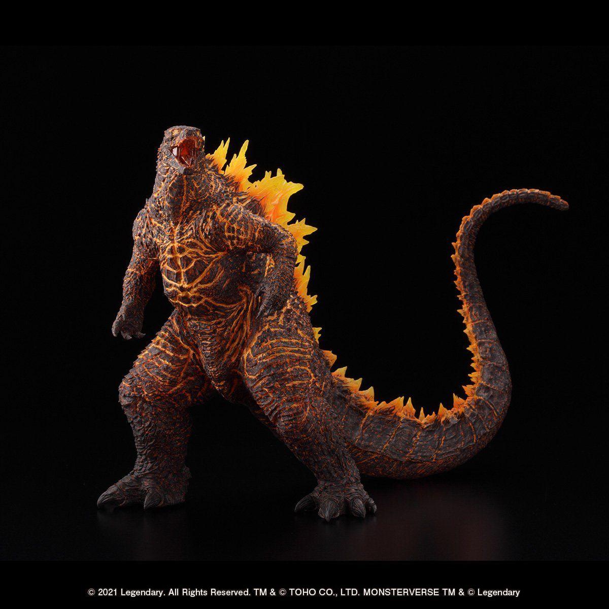 超激造シリーズ『GODZILLA(2019)BURNING Ver.』ゴジラ キング・オブ・モンスターズ 完成品フィギュア-002