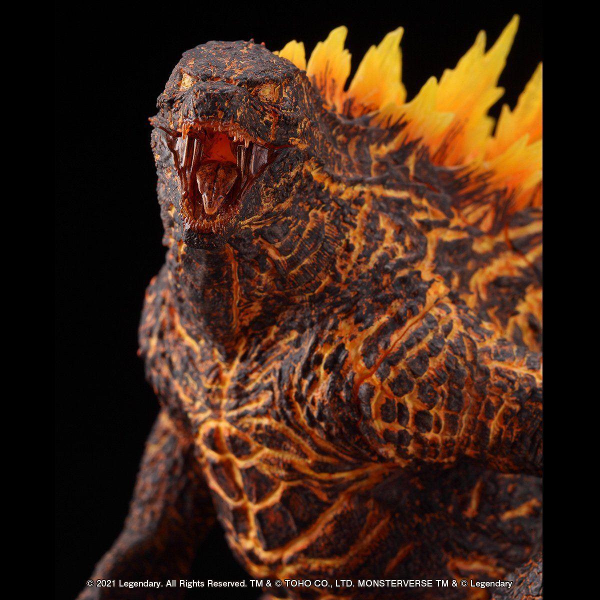 超激造シリーズ『GODZILLA(2019)BURNING Ver.』ゴジラ キング・オブ・モンスターズ 完成品フィギュア-006