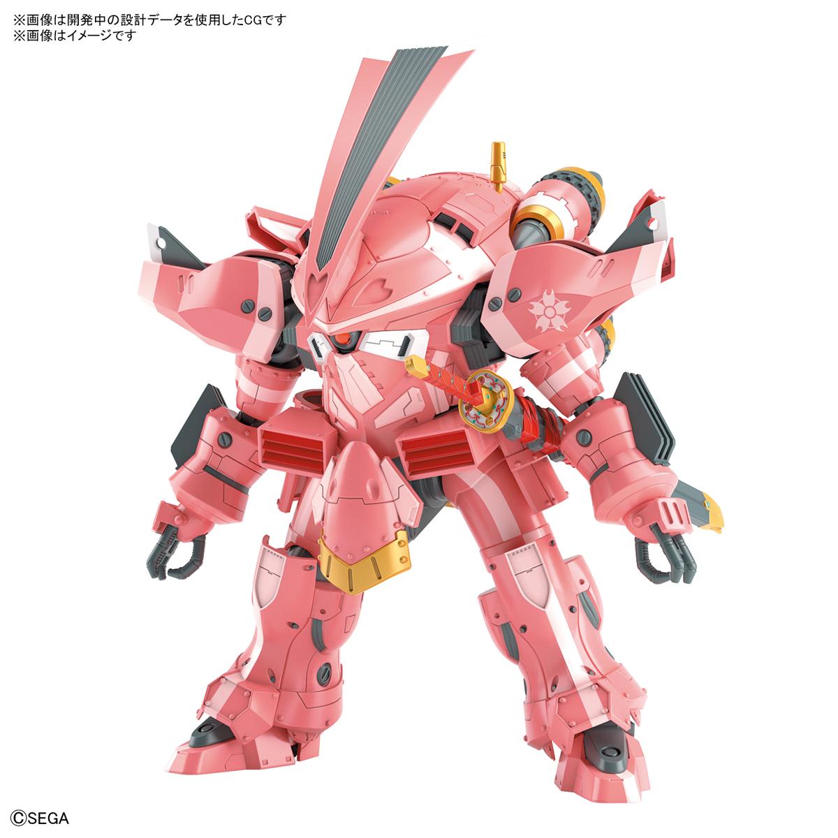 HG 1/24『霊子戦闘機・試製桜武(天宮さくら機)』新サクラ大戦 プラモデル-001