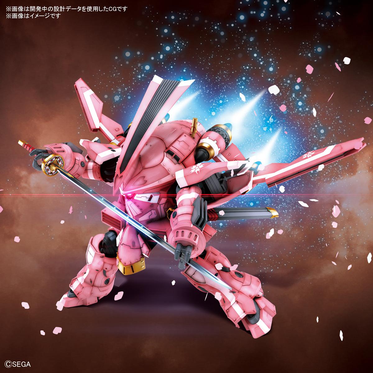 HG 1/24『霊子戦闘機・試製桜武(天宮さくら機)』新サクラ大戦 プラモデル-002