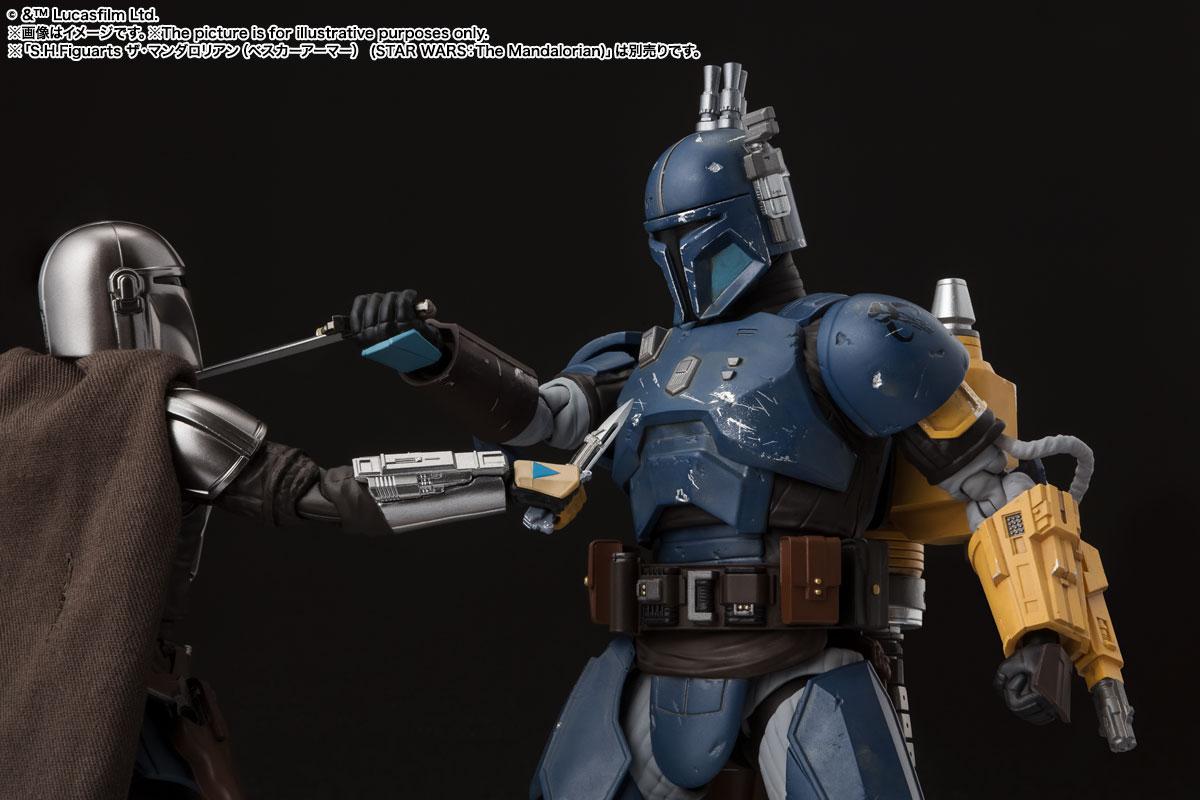 S.H.Figuarts『重歩兵マンダロリアン(STAR WARS: The Mandalorian)』スター・ウォーズ 可動フィギュア-006