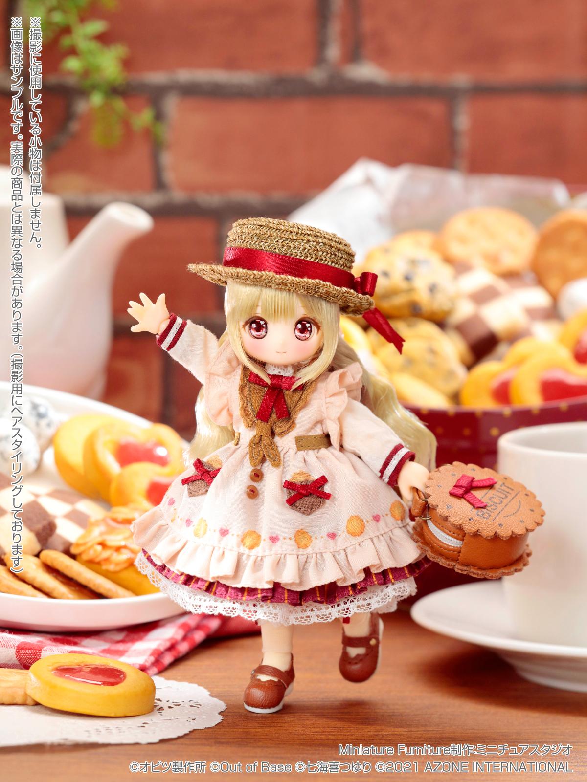 【限定販売】SugarCups(シュガーカップス)『ビスケティーナ ~Welcome to Sugar Cup Wonderland!~(アゾンダイレクトストア限定販売 ver.)』ピコニーモP 完成品ドール-001