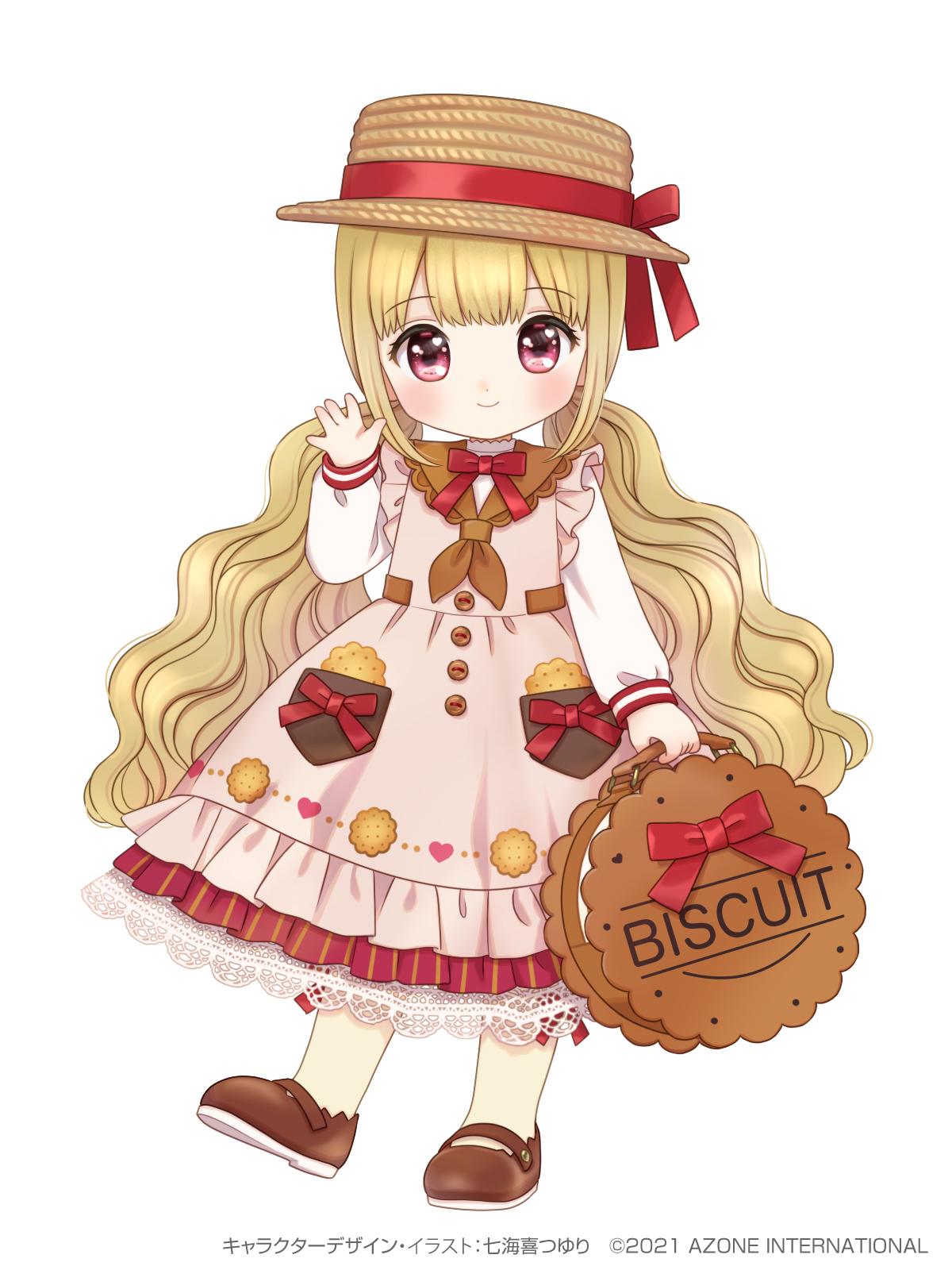 【限定販売】SugarCups(シュガーカップス)『ビスケティーナ ~Welcome to Sugar Cup Wonderland!~(アゾンダイレクトストア限定販売 ver.)』ピコニーモP 完成品ドール-004