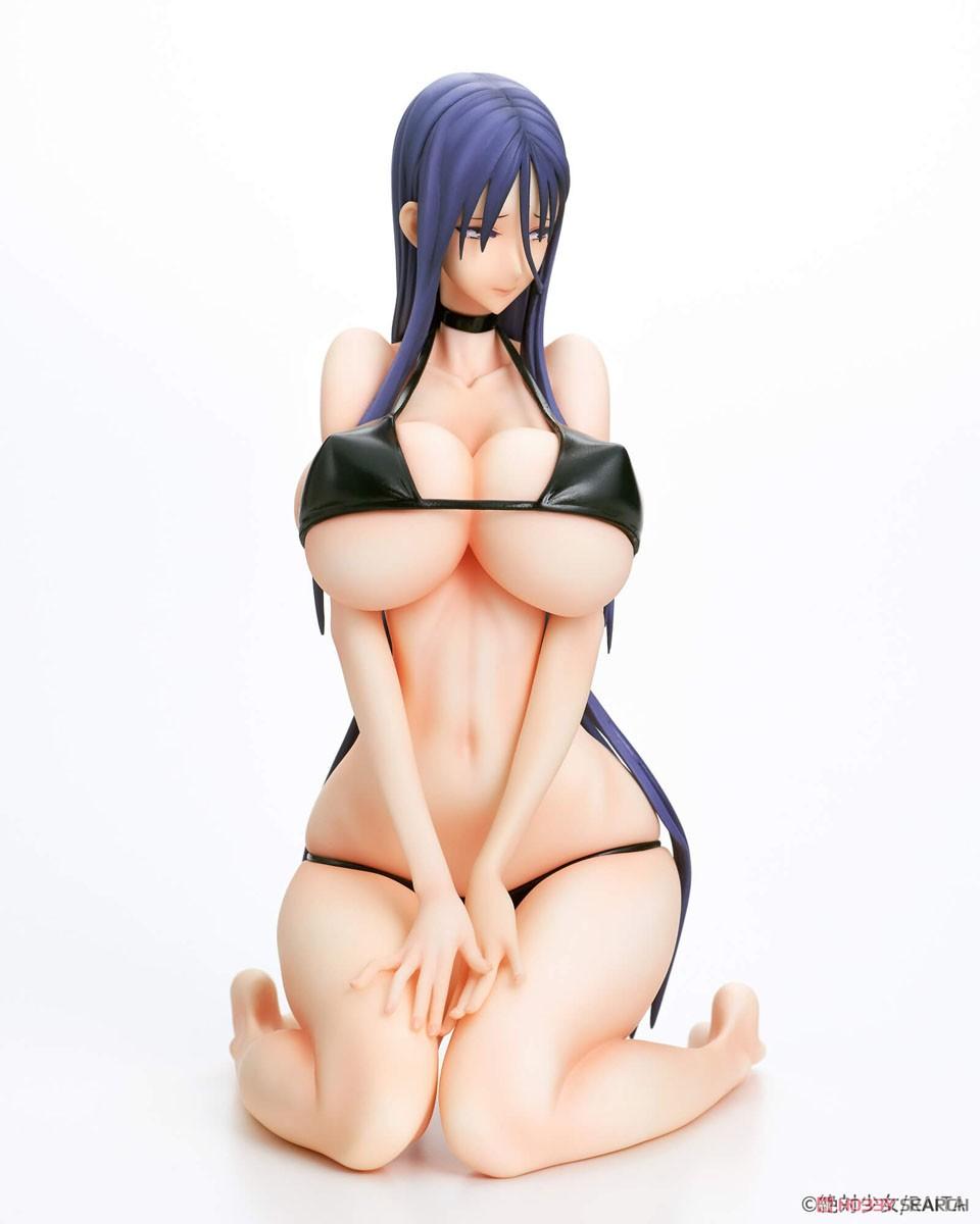 魔法少女『ミサ姉 黒ビキニver.』1/6 完成品フィギュア-003
