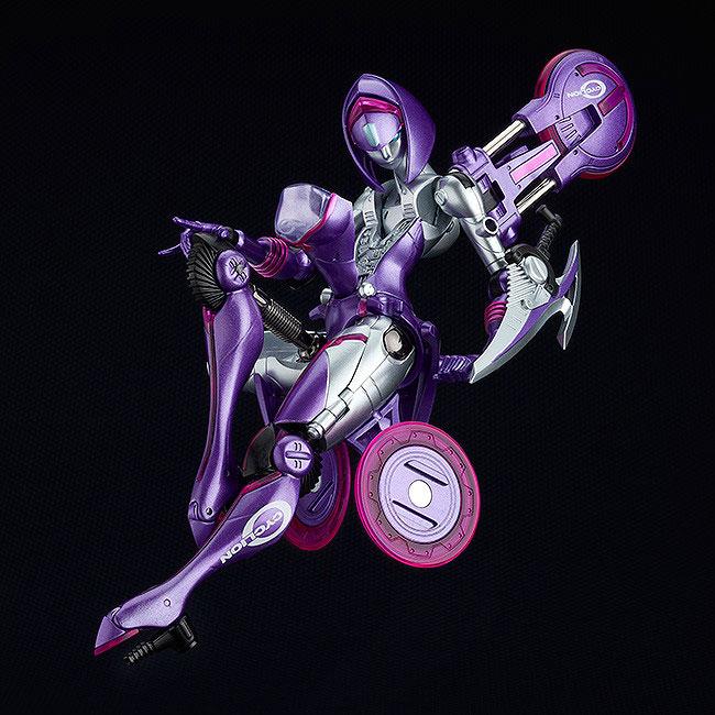 サイクリオン『TYPE ラベンダ』1/12 塗装済み変形フィギュア-002
