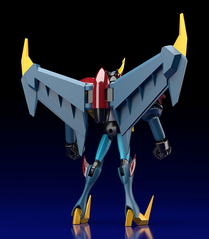 MODEROID『ガイキング』プラモデル-017
