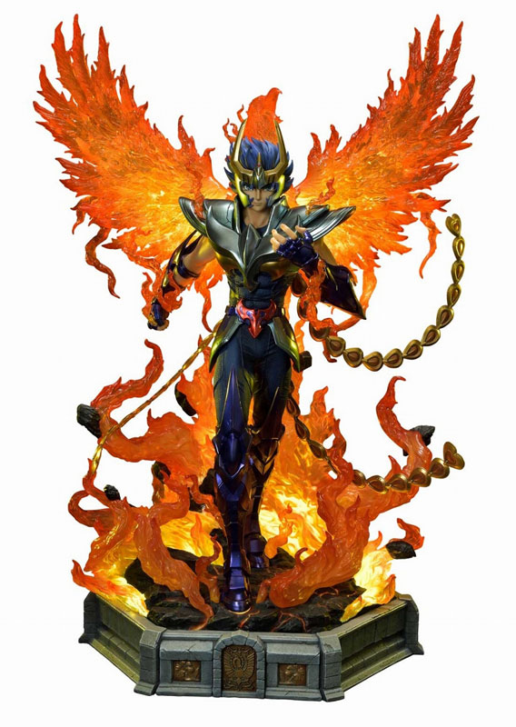 プレミアムマスターライン『フェニックス一輝』聖闘士星矢 1/4 スタチュー-001