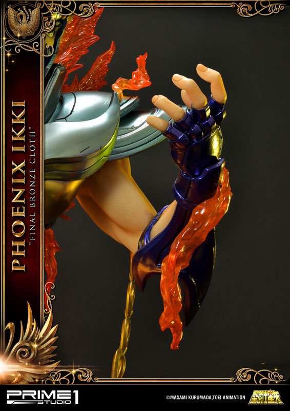 プレミアムマスターライン『フェニックス一輝』聖闘士星矢 1/4 スタチュー-016