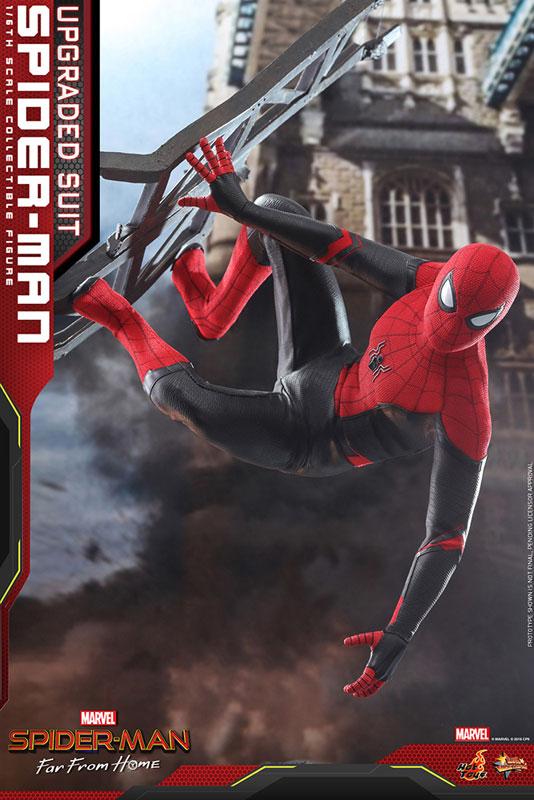 ムービー・マスターピース『スパイダーマン アップグレードスーツ』Far From Home 1/6 可動フィギュア-001