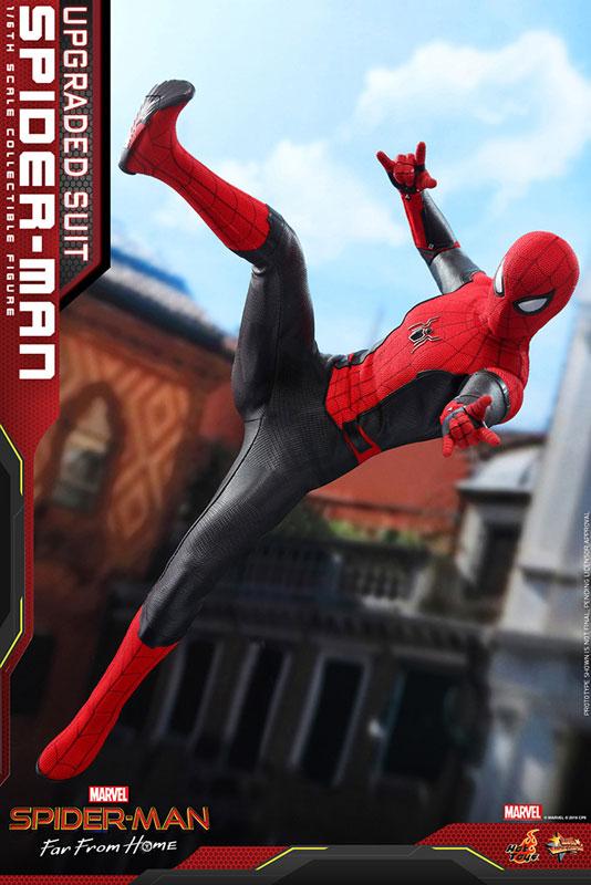 ムービー・マスターピース『スパイダーマン アップグレードスーツ』Far From Home 1/6 可動フィギュア-003