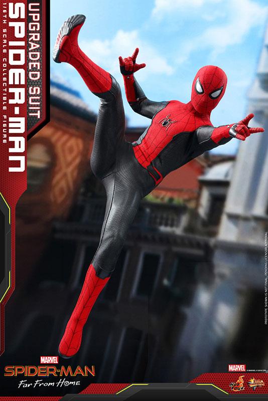 ムービー・マスターピース『スパイダーマン アップグレードスーツ』Far From Home 1/6 可動フィギュア-004
