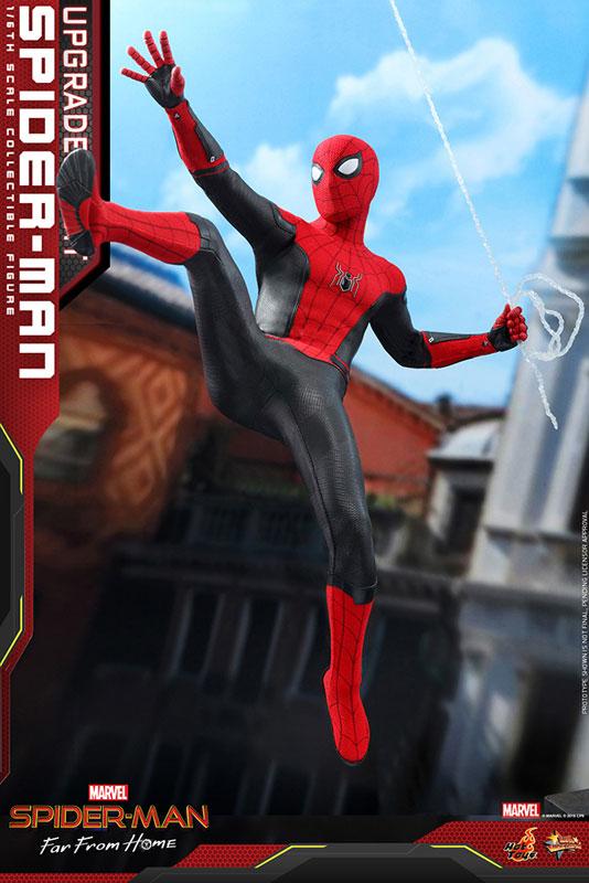 ムービー・マスターピース『スパイダーマン アップグレードスーツ』Far From Home 1/6 可動フィギュア-005