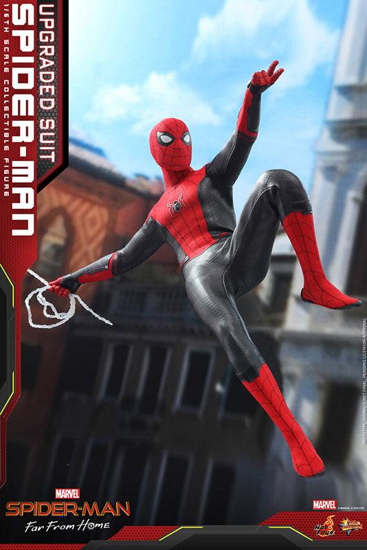 ムービー・マスターピース『スパイダーマン アップグレードスーツ』Far From Home 1/6 可動フィギュア-006