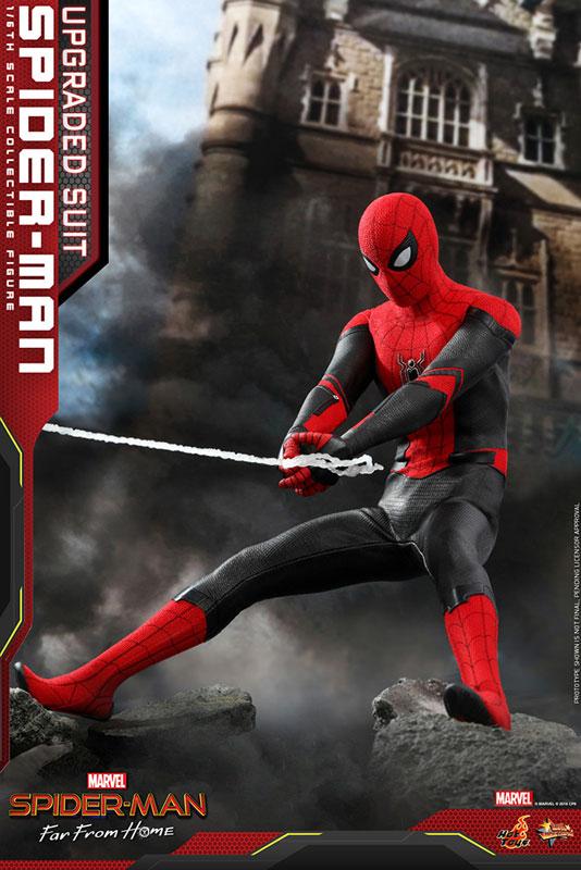 ムービー・マスターピース『スパイダーマン アップグレードスーツ』Far From Home 1/6 可動フィギュア-007