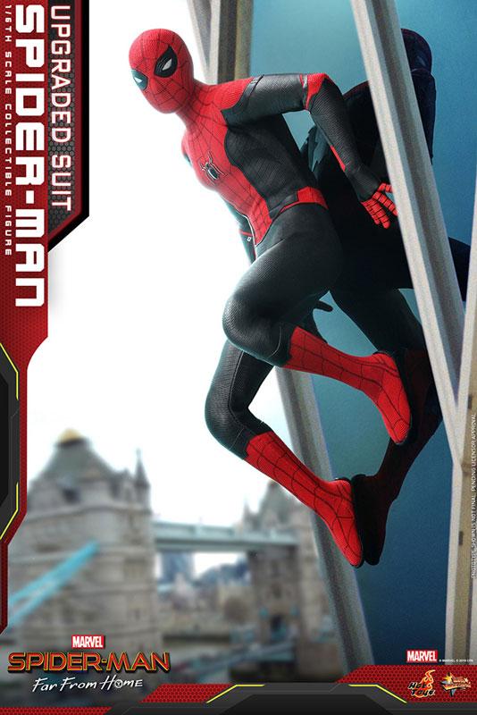ムービー・マスターピース『スパイダーマン アップグレードスーツ』Far From Home 1/6 可動フィギュア-008