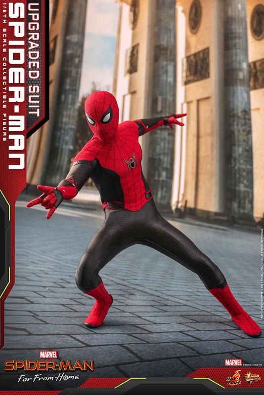 ムービー・マスターピース『スパイダーマン アップグレードスーツ』Far From Home 1/6 可動フィギュア-009