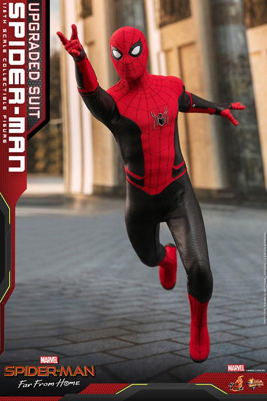 ムービー・マスターピース『スパイダーマン アップグレードスーツ』Far From Home 1/6 可動フィギュア-010