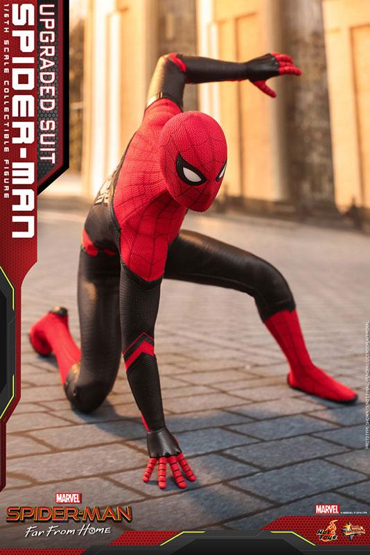 ムービー・マスターピース『スパイダーマン アップグレードスーツ』Far From Home 1/6 可動フィギュア-011