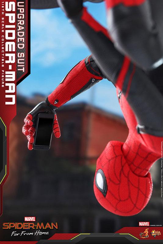 ムービー・マスターピース『スパイダーマン アップグレードスーツ』Far From Home 1/6 可動フィギュア-012