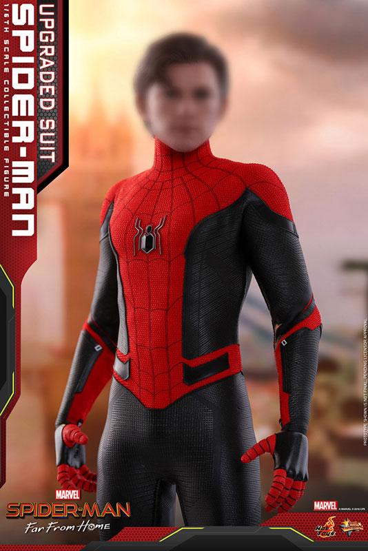 ムービー・マスターピース『スパイダーマン アップグレードスーツ』Far From Home 1/6 可動フィギュア-013